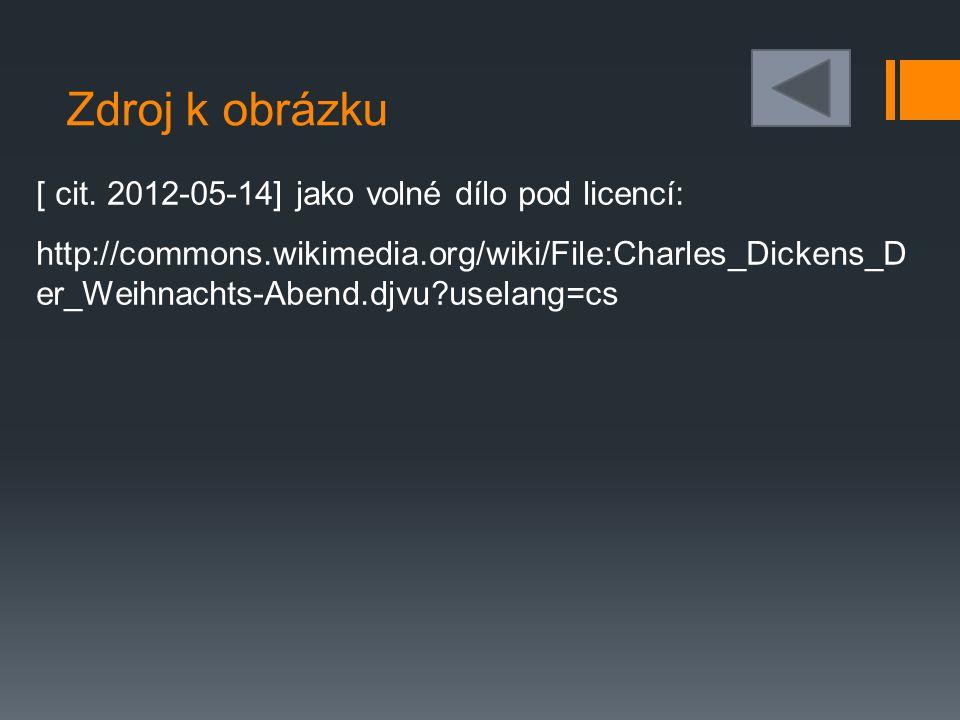 Zdroj k obrázku [ cit. 2012-05-14] jako volné dílo pod licencí: